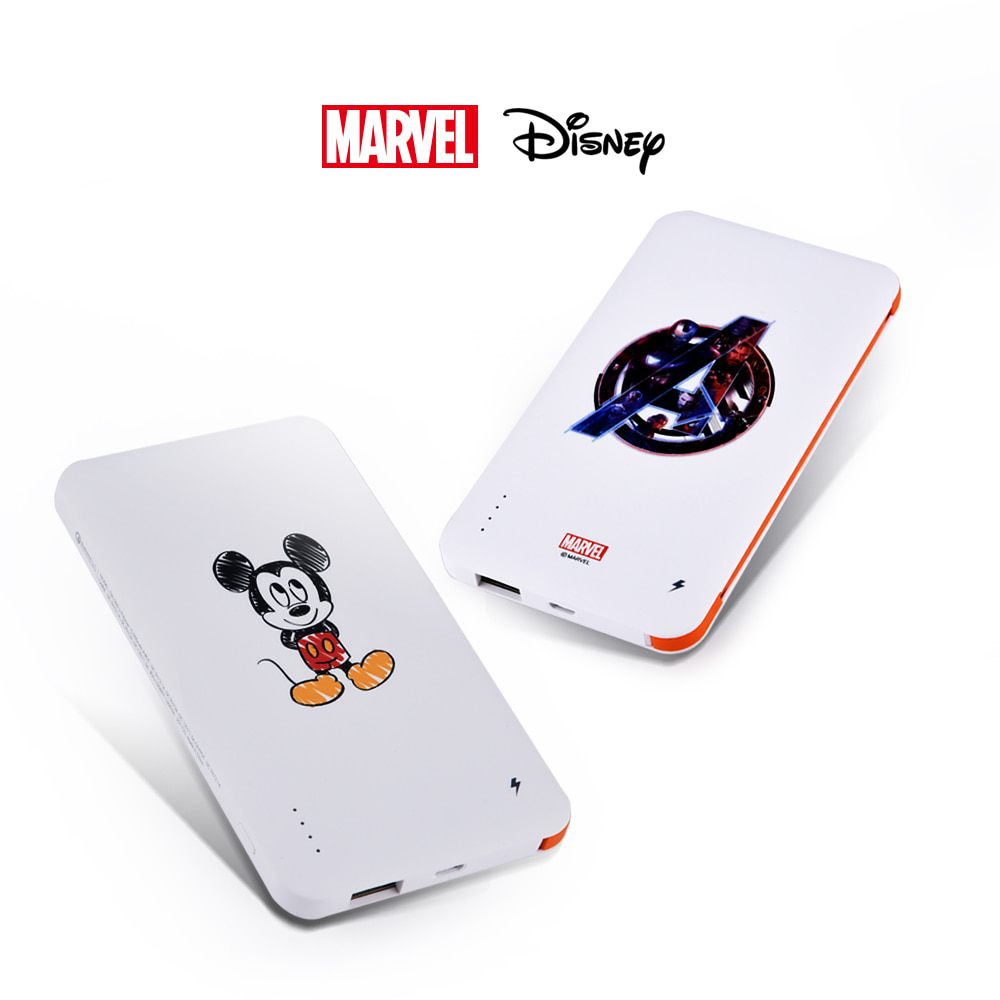 [MARVEL & DISNEY] QC 2.0 보조배터리 10,000 mAh